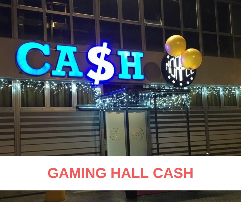 Gaming Hall Cash