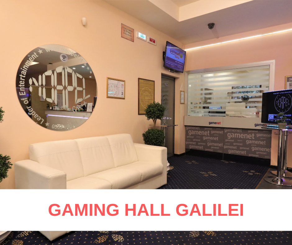 Gaming Hall Galilei